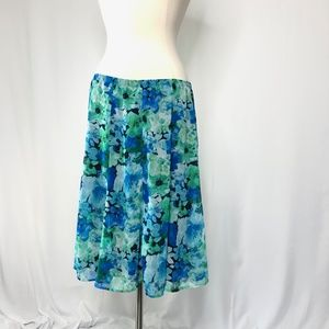 Womens Dress Barn Skirt size L